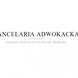 Adwokat Aleksandra Krawczyk-Głowacka
